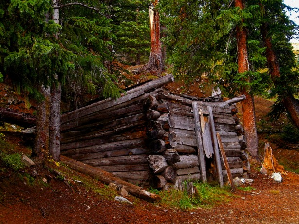 The old miner's dugout