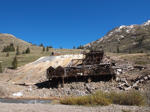 The mine at Animas Forks