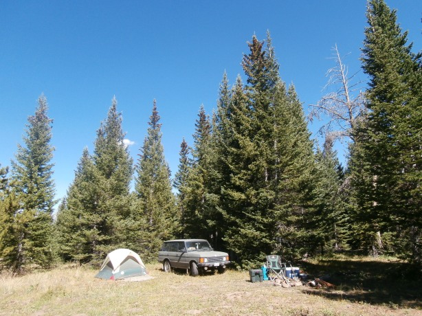 Camp near Yampa