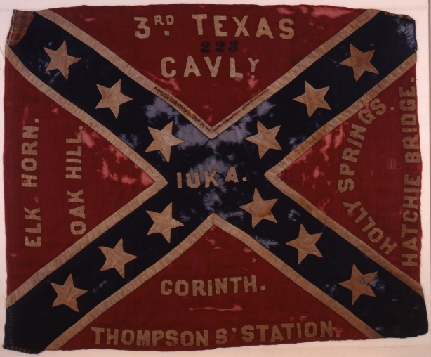 Battle Flag of the 3rd Texas Cavalry Regiment