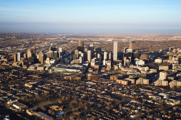 The urban sprawl of Denver...once described as