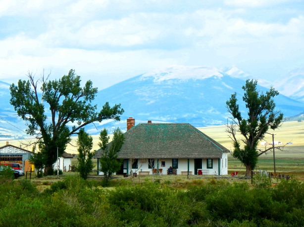 Guiraud's Ranch near Fairplay, Colorado where Owen Singletary spent a night in July 1864.